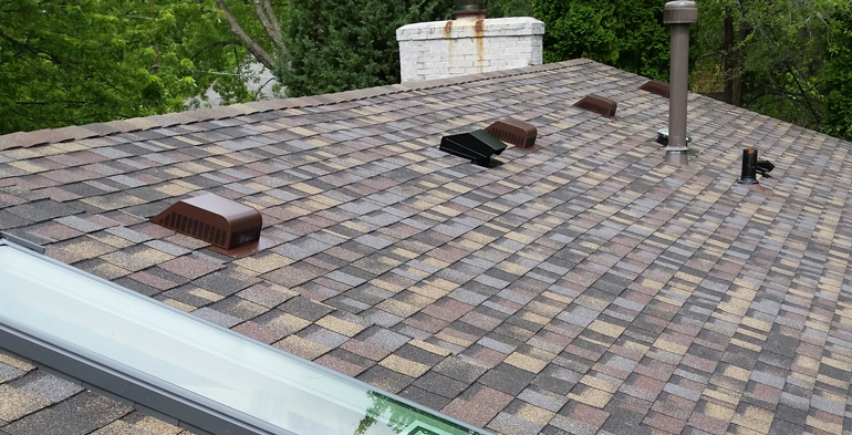 SKYLIGHTS AND SHINGLES AFTER